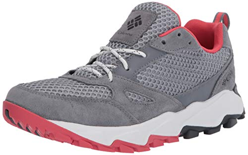 Columbia womens Ivo Trail Breeze Hiking Shoe, Earl Grey/Juicy, 7.5 US