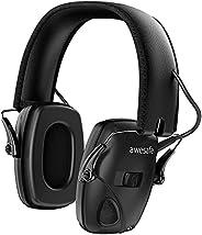 New Electronic Shooting Earmuff, awesafe GF01 Noise Reduction Electronic Ear Muffs