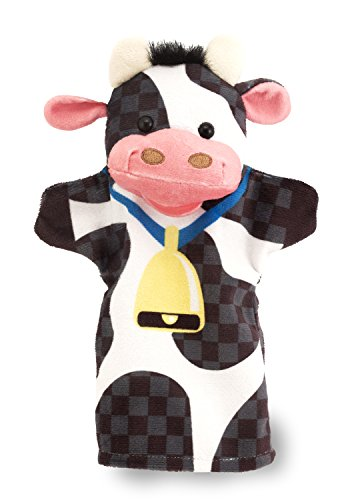 41Vp5tZWKiL - Melissa & Doug Farm Friends Hand Puppets (Set of 4) - Cow, Horse, Sheep, and Pig
