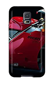 Galaxy S5 Case Slim [ultra Fit] Ducati Motorcycle Protective Case Cover 7453900K96899377