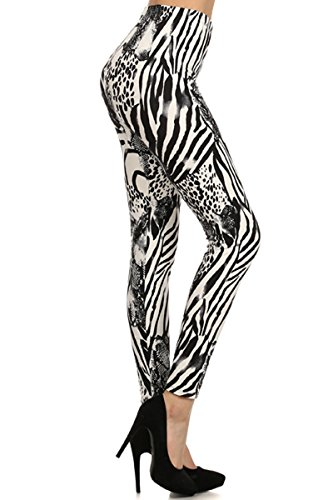 NEW Beautiful Women's Animal Leopard Printed Leggings Pants - Snake Cheetah Print