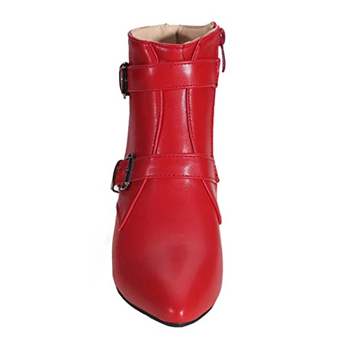 AIYOUMEI Women's Classic Boot Red kh2ea91