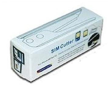 4 sold - Cortador de tarjetas SIM iPhone 5 nano y Micro SIM y 3 adaptadores para SIM de iPhone 5