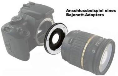 Bajonett Kameras f/ür Olympus OM-D E- Panasonic Lumix DMC G Serie Systemkameras m 4//3 bzw. MFT Olympus PEN POWERED BY SIOCORE Adapter Four Thirds Bajonett Objektiv an Micro Four Thirds 4//3