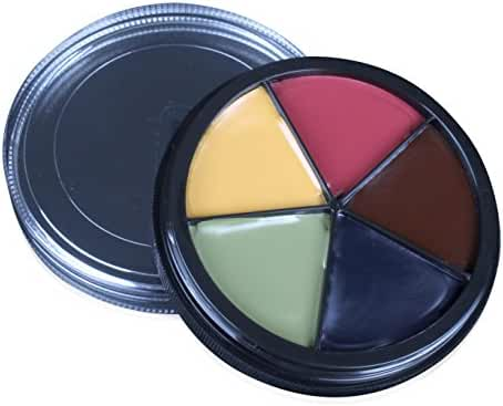 Mehron Makeup Pro ColoRing (5 Color Ring) BRUISE for Special Effects  Halloween  Movies