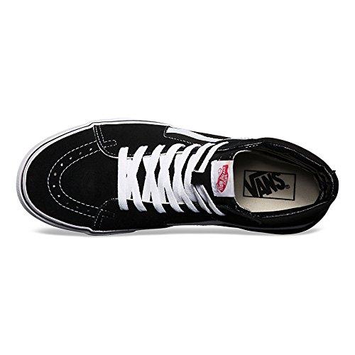 Hi Sk8 Vans Alti Black Black Adulto White Unisex Sneakers 15ndq