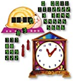 Telling Time Flannelboard Figures Flannelboard Lesson Set - Kit