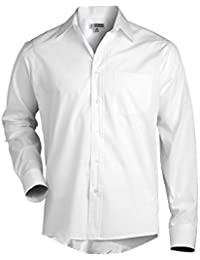 Men's Long Sleeve Broadcloth Dress Shirt