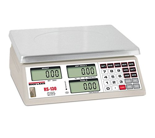 Price Computing Scale, 60 lb x 0.02 lb (RS-160) by Rice Lake
