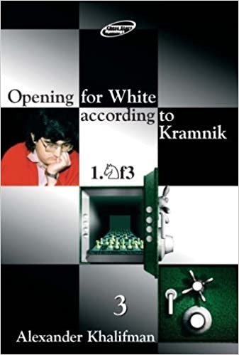 Opening for White according to Kramnik 1.Nf3, Volume 3 (Repertoire Books) by Alexander Khalifman (2002-05-01)