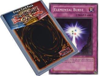 Flaming Eternity Single (Yu Gi Oh : FET-EN059 1st Edition Elemental Burst Common Card - ( Flaming Eternity YuGiOh Single Card ) by Yu Gi Oh)