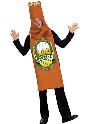 Funny Guy Costume 2016 (Rubie's Costume Co. Men's Beer Bottle Costume, As Shown, Standard)