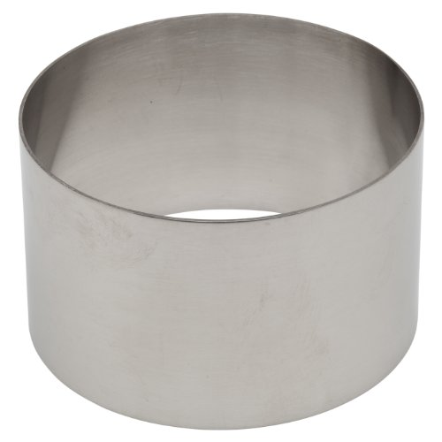 Ateco 4953 Stainless Steel Ring Mold, 2.75 by 2.1-Inches High, Compatible with 4952 Food Molding Set