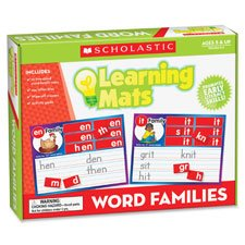 Word Family Words Mats (Learning Mats, Word Families, 1