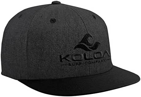 Koloa Surf Classic Snapback Hats with Embroidered Logo in 16 Colors
