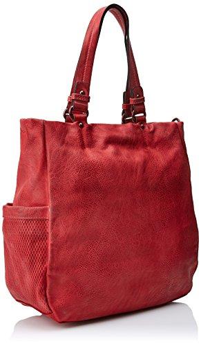 Refresh x H Shopper W Red para cm 83135 Rojo L x Mujer 35x32x12 r0UqrAa8