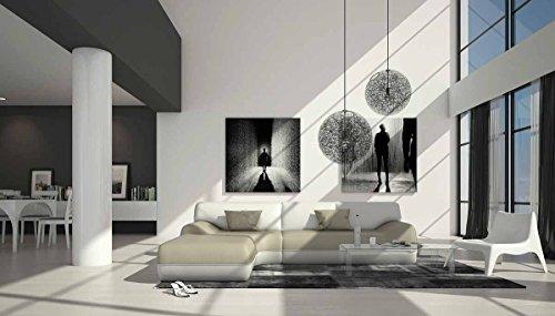 Großzügiges Kunstleder Eck-Sofa in creme / weiß L-Form 265x220 cm ...