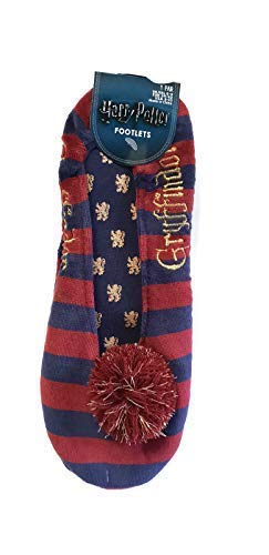 Harry Potter Zapatillas Calcetines Gryffindor Hufflepuff Ravenclaw Slytherin Cubrepies: Amazon.es: Ropa y accesorios