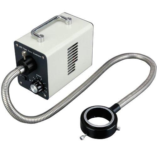 AmScope-LED-50WR-50W-LED-Fiber-Optic-O-Ring-Light-Microscope-Illuminator