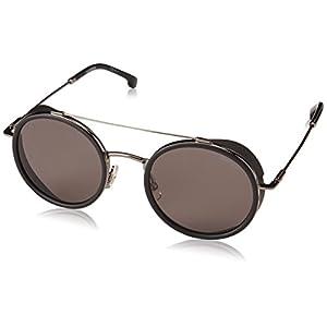 Carrera Men's 167/s Round Sunglasses, Dark Ruthenium, 50 mm