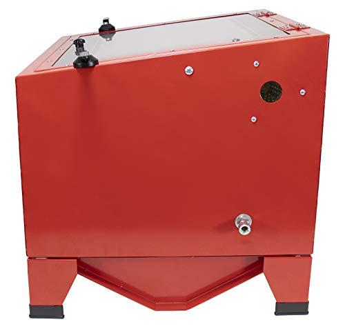 Dragway Tools Model 25 Bench Top Sandblasting Sandblast Cabinet Gun And Nozzles Buy Online In
