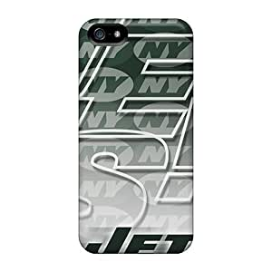 Lajonline Perfect Tpu Case For Iphone 5/5s/ Anti-scratch Protector Case (new York Jets)