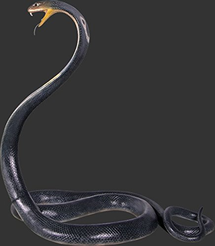 King Cobra Snake Life Size - LM Treasures