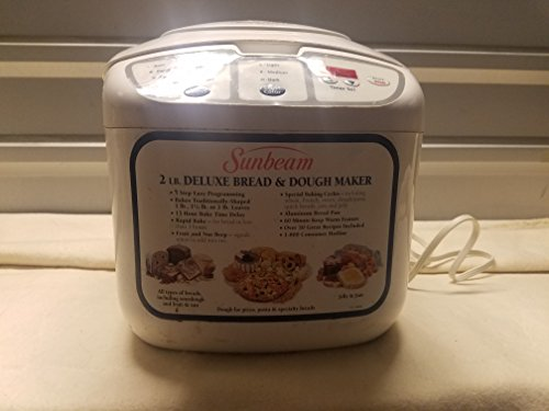 Sunbeam 2 lb. Deluxe Bread and Dough Mixer