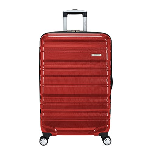 Ricardo Beverly Hills Serramonte 26″ Upright Spinner Luggage, True Red