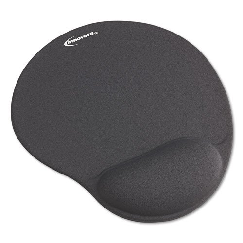 Innovera Mouse Pad with Gel Wrist Pad, Gray