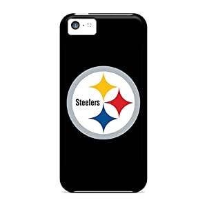 High Quality Cell-phone Hard Cover For Iphone 5c (YBY17034akUz) Custom Realistic Pittsburgh Steelers 2 Pictures