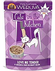 Weruva Cats in the Kitchen Grain-Free Natural Wet Cat Food Pouches