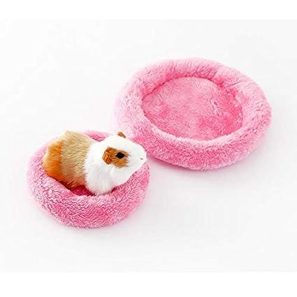 Cupcinu Haustiermatte Mini Tier Nest Hamster Nest Hamster Pad Meerschweinchen Pad kann Maschine waschbar Sein