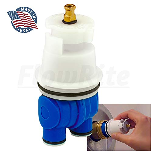 FlowRite Replacement RP19804 for Delta Faucet Shower Cartridge 13/14 Series Monitor Assembly