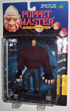 Puppet Master Pinhead in Brown Sweater Vintage 1998 Action Figure (Puppet Master Action Figures)