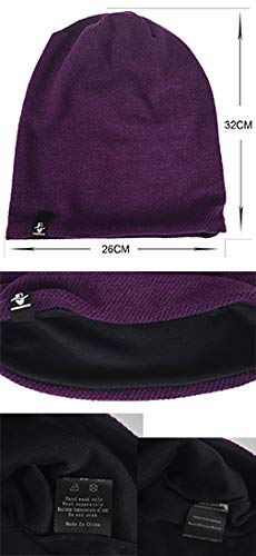 efb503f3a B305-black VECRY Men's Cool Cool Cool Cotton Beanie Slouch Skull Cap ...