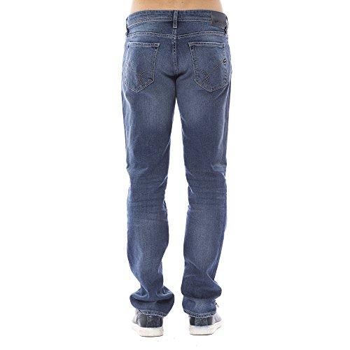 Blue Pantalones Vaqueros Jeans Bolsillos Hombre Gas 5 qXaRww