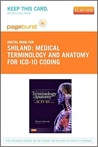 buy medical terminology and anatomy for icd-10 coding (pageburst ...