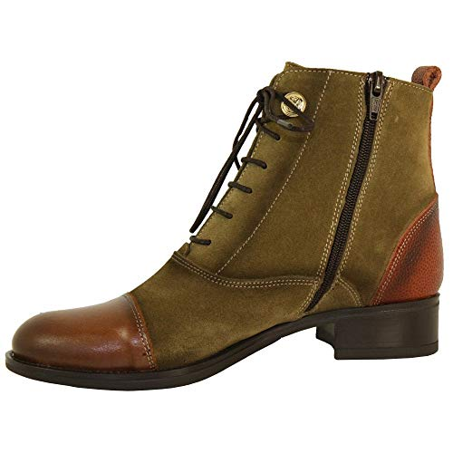 Gonzalo Luis Olive Boot 4769M Ankle 6xx17d