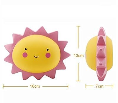 URTop Cute Novelty Pink Sun Shape Led Night Light Luminaria Bedroom Nursery Mini Desk Table Decorate Night Lamps Kids Children Gift Home Decor