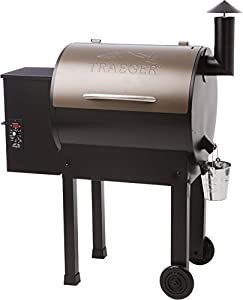 Traeger TFB42LZBO Lil'Tex Elite Grill, Bronze made by  famous Traeger