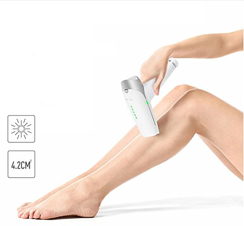 LINANA 2 In 1 IPL Laser Epilator Photon Painless Hair Removal Instrument Permanent 300000 Pulse Flash Face And Body Hair Removal System + Skin Rejuvenation HD LCD Monitor