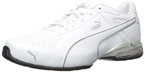 PUMA Men's Cell Surin 2 Fm Cross-Trainer Shoe, Puma White, 11.5 M US