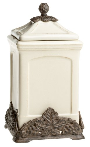 Arthur Court Grape Tuscan 12-1/2-Inch Canister