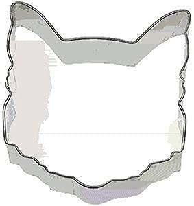 "Cat Face Cookie Cutter 3.5"" Kitty Baking Sugar Fondant Fur"