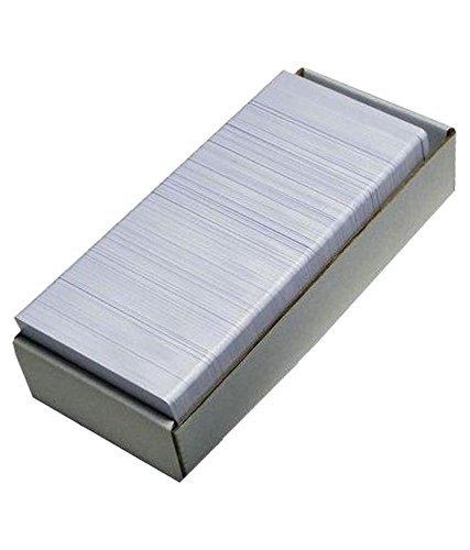 Kataria Plain White PVC ID Cards for Inkjet Printers -Set of 230 Cards