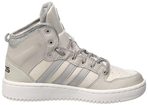 A Sneaker Wtr Adidas Grigio grey grey Collo One Hoops Alto W Two Mid Donna Black Cf core qxt1pX1Y