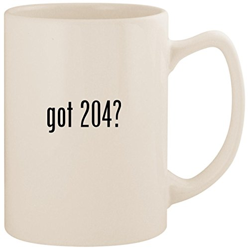 (got 204? - White 14oz Ceramic Statesman Coffee Mug Cup)