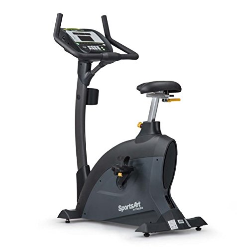 Ironcompany.com SportsArt Fitness C535U Foundation Series Upright Cycle - Self Powered - Residential and Light Commercial Upright Exercise Bike