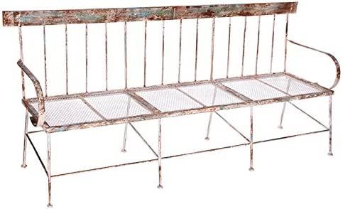 Hogar Decora - Banco Jardin FORJA 195x54x89 cm.: Amazon.es: Hogar